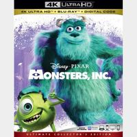 Monsters, Inc. MA 4k code only (0E0S...)