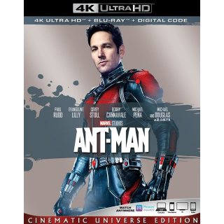 Ant-Man 4K MA code only  (SFP5...)
