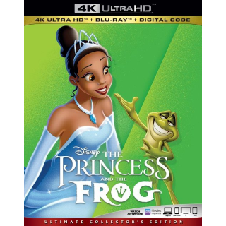 The Princess and the Frog MA 4k code only (AVML...)