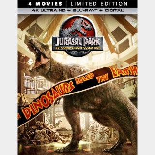 Jurassic World 4-Movie Collection 4k (UPV3...)
