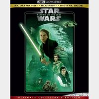 Episode 6 Star Wars: Return of the Jedi 4K MA code only (48PC...)