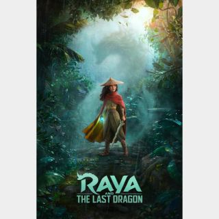 Raya and the Last Dragon 4K MA code only