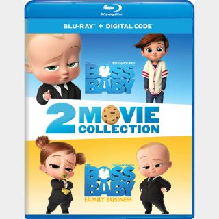 The Boss Baby 2-Movie Collection HD MA code (URG2...)
