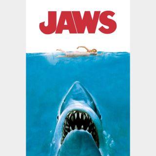 Jaws 4k (vudu or MA)