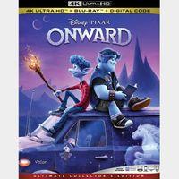 Disney Onward MA 4k code only (ERQ8...)