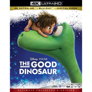 The Good Dinosaur MA 4k code only and no points (77EW...)