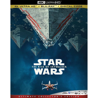 Star Wars: The Rise of Skywalker 4K MA code only (3IS5...)