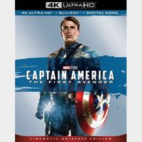 Captain America: The First Avenger (2011) 4k MA code only  (VN4P...)