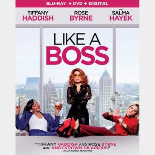 Like a Boss HD for vudu or iTunes 4k (PWKP...)