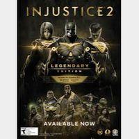 Injustice 2 Legendary Edition GLOBAL Steam Key
