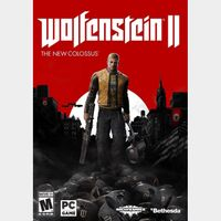 Wolfenstein II: The New Colossus GLOBAL Steam Key