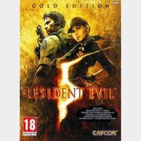 Resident Evil 5 Gold Edition GLOBAL Steam Key