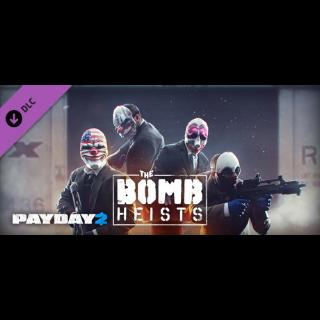PAYDAY 2: THE BOMB HEISTS DLC STEAM CD KEY