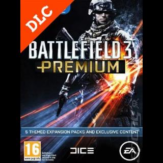 Battlefield 3 - Premium DLC Origin CD Key