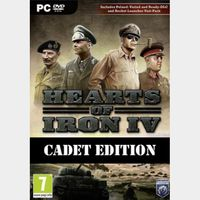 Hearts of Iron IV: Cadet Edition Key Steam GLOBAL