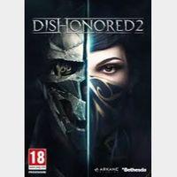 Dishonored 2 Steam Global CD Key