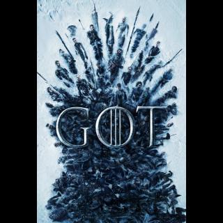 Game of Thrones S1 HD VUDU First Season