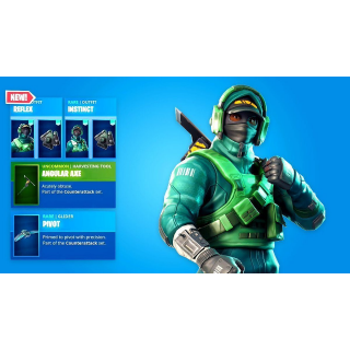 FORTNITE BUNDLE 2000 V-BUCKS + COUNTERATTACK SET [EPIC + GLOBAL+NO NEED GPU!]