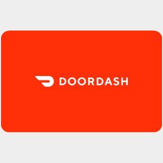 $50.00 DoorDash