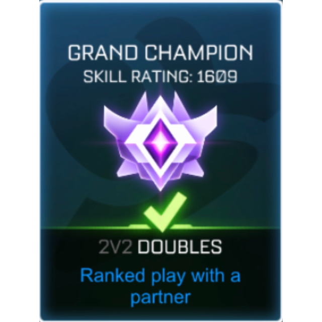 I will Get your Rocket League rank up.