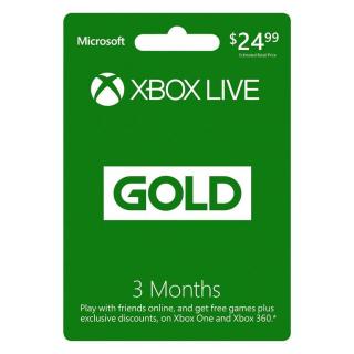 3 Months Xbox Live Gold *CHEAP*