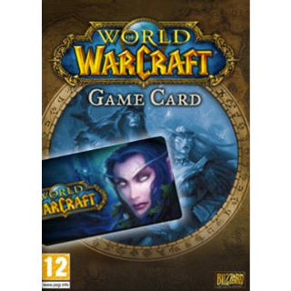 World of Warcraft Time Card 30 Days EUROPE