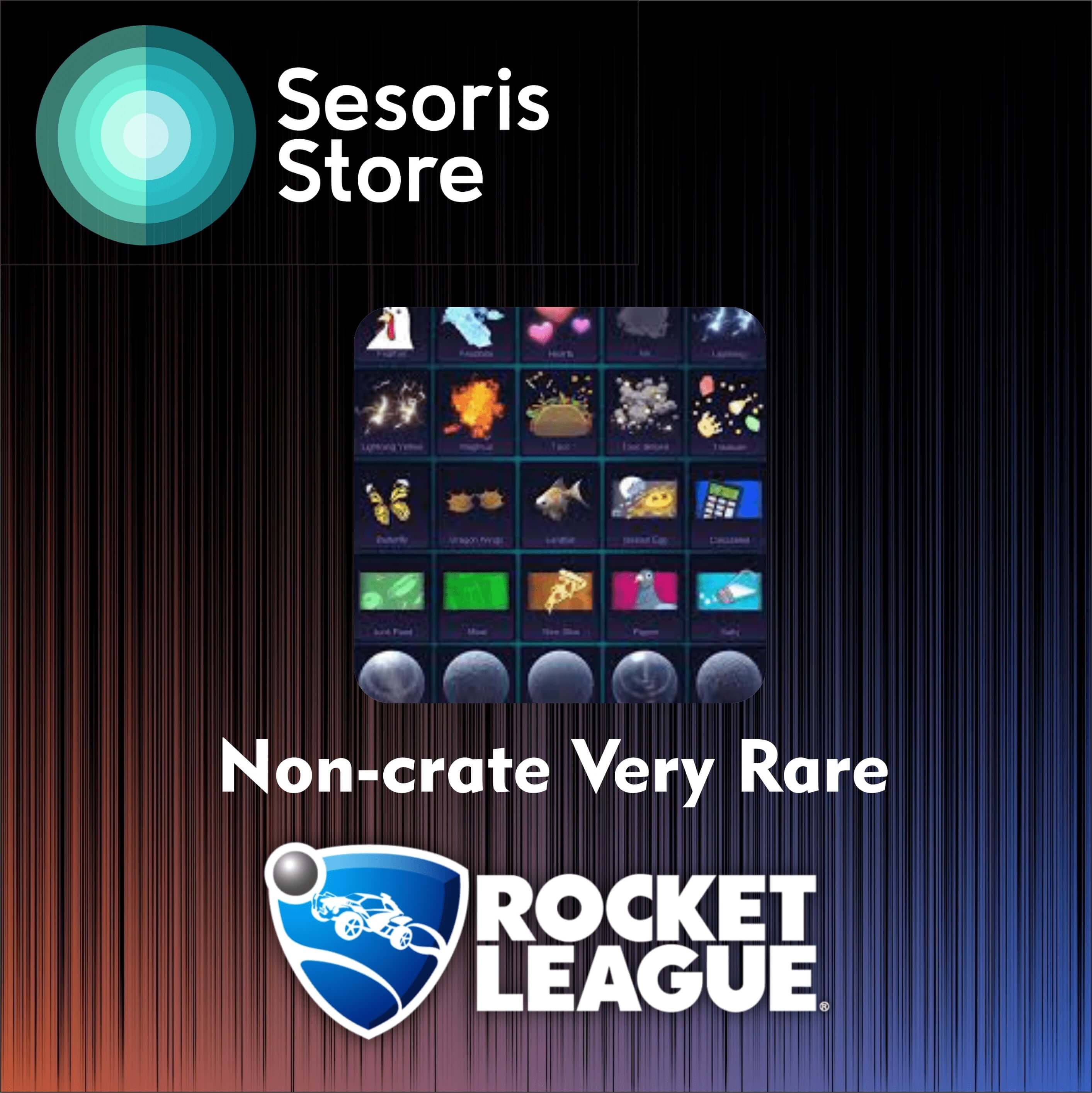 NCVR | 150x Non-crate Very Rare for Playstation 4