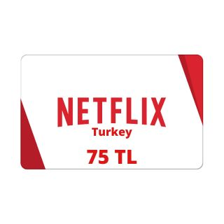 75 TL Netflix Gift Card Turkey - Instant Delivery