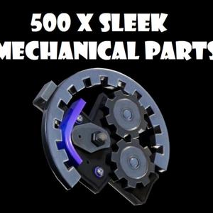 Sleek Mechanical Parts   1x