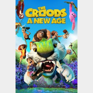 The Croods: A New Age / 4k UHD / MoviesAnywhere