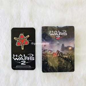 Halo Wars 2 Playing Cards & Xbox E3 Pin