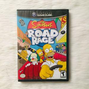 The SIMPSONS ROAD RAGE GAMECUBE