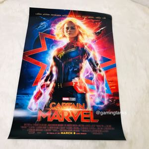 Exclusive Promo Captain Marvel Poster