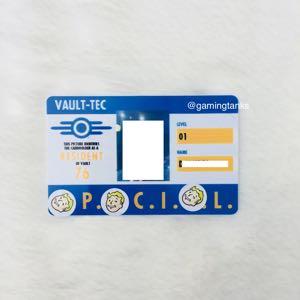 E3 2018 Fallout 76 ID Card Exclusive