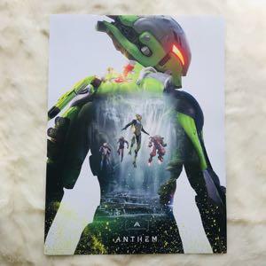 "Anthem Interceptor Collectible Poster 24""x18"""