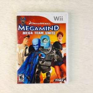 Megamind Nintendo Wii Game