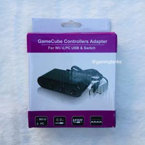 Nintendo Switch GameCube Adapter New