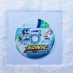 Sonic Free Riders Xbox 360 Kinect Game