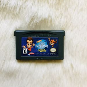 Nintendo Gameboy Jimmy Neutron Game