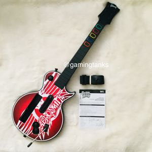 Wii Guitar Hero Aerosmith Les Paul Guitar