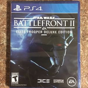 Star Wars Battlefront 2 Elite Trooper Deluxe Edition Factory Sealed *NEW*