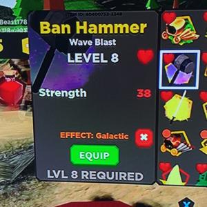 Gear | ban hammer