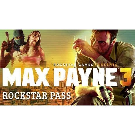 Max Payne 3 Rockstar Pass Key ONLY Steam GLOBAL