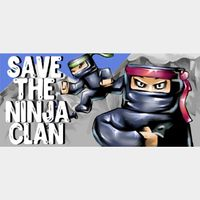 Save the Ninja clan Steam Key Global