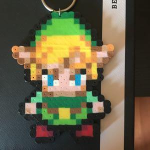 Link Bead Art keychain