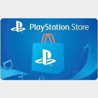 €50.00 PlayStation Store Guthaben