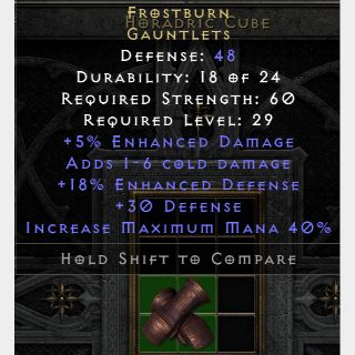 Armor   Frostburn D2R