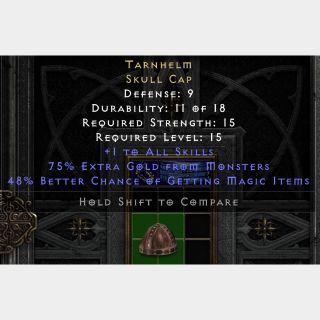 Uniques   Tarnhelm 48% D2R