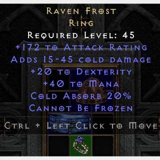 Uniques   Ravenfrost D2R