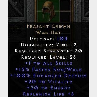 Uniques   Peasant Crown D2R